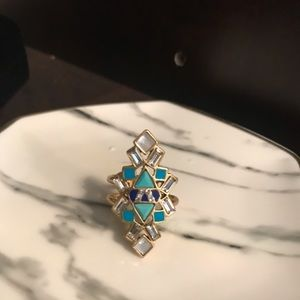Buy 3 for $30.  Stella & Dot adjustable ring